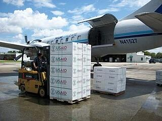 Crowley's rapid-response logistics support for USAID