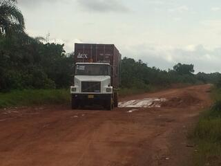 Crowley's West Africa trucking support for Operation United Assistance Ebola mission