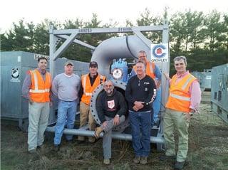 Crowley's Hurricane Sandy expeditionary logistics team